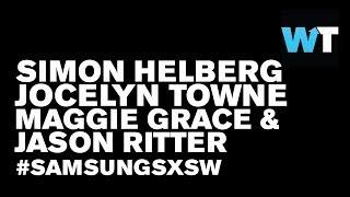 Simon Helberg, Maggie Grace & Jason Ritter (We'll Never Have Paris)   #SamsungSXSW