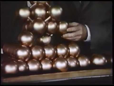 Linus Pauling Vortrag: Valence und Molekülstruktur Part 1