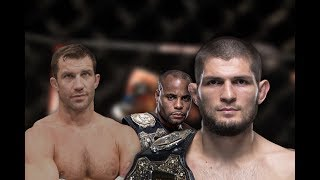 Video khabib and daniel cormier being best teammates while luke rockhold's awkwardness greatens MP3, 3GP, MP4, WEBM, AVI, FLV Oktober 2018