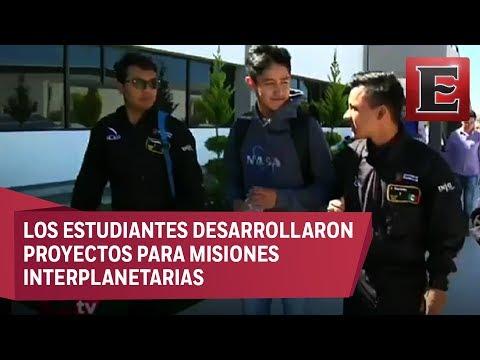 Estudiantes de Hidalgo destacan en concurso de la NASA