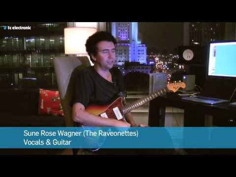"Sune Rose Wagner (The Raveonettes) demoes his ""Tarantula"" Reverb TonePrint (DK Version)"