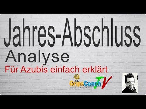 Jahresabschluss-Analyse einfach erklärt – Prüfungswissen für Azubis – GripsCoachTV [HD]