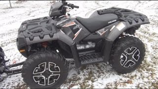 9. 2015 Polaris Sportsman 850 SP