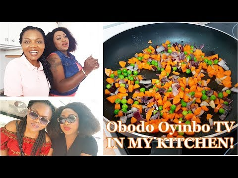 Obodo Oyinbo TV Cooks In All Nigerian Recipes Kitchen