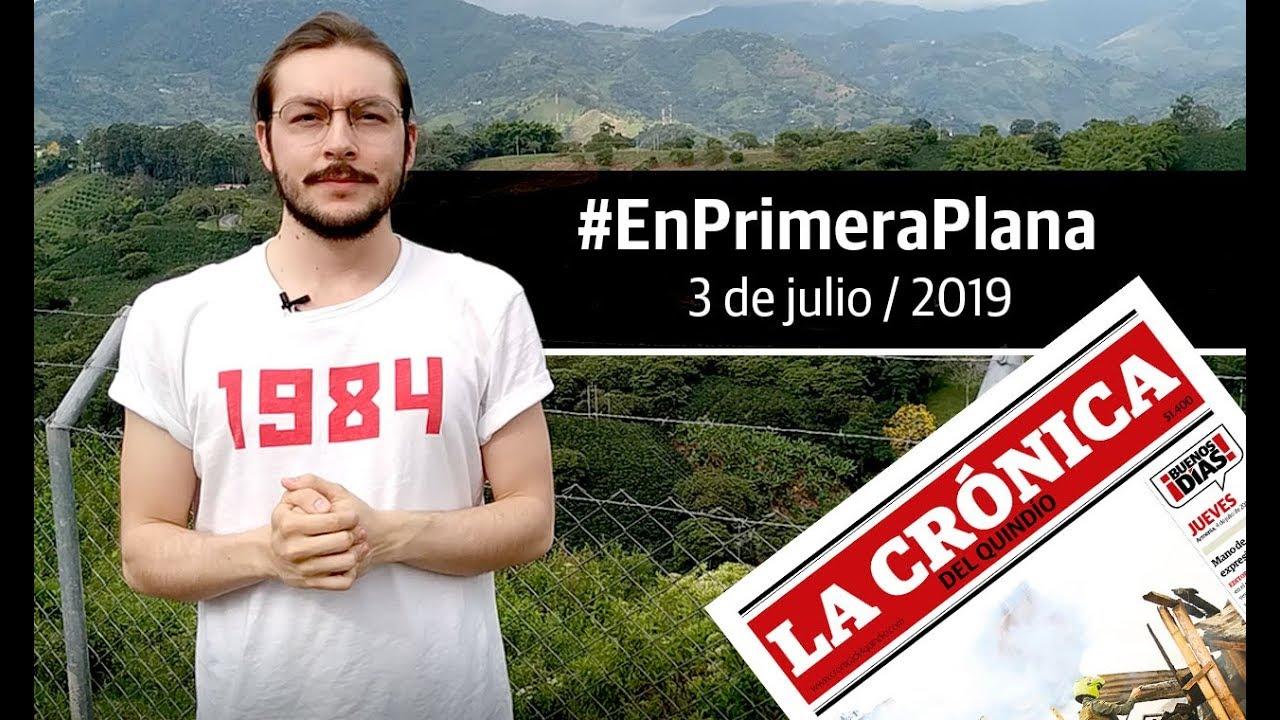 En Primera Plana: lo que será noticia este jueves 4 de julio