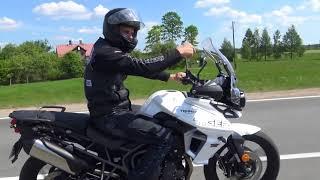 6. Motociklisti 2018 E6 Triumph Tiger 800 XRx Low