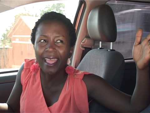 Kansiime Anne Drives With An Expired Permit. African Comedy