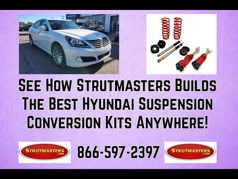 1990-1999 Lexus LS 400 Front Air Suspension Conversion Kit Build