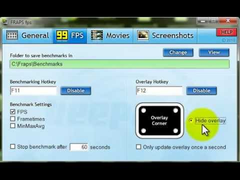 Video 1 de Fraps: Grabar videos con audio de micro