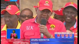 UhuRuto take campaigns to Nairobi while pushing support for Jubilee candidatesSUBSCRIBE to our YouTube channel for more great videos: https://www.youtube.com/Follow us on Twitter: https://twitter.com/KTNNews  Like us on Facebook: https://www.facebook.com/KTNNewsKenya For more great content go to http://www.standardmedia.co.ke/ktnnews and download our apps:http://std.co.ke/apps/#android KTN News is a leading 24-hour TV channel in Eastern Africa with its headquarters located along Mombasa Road, at Standard Group Centre. This is the most authoritative news channel in Kenya and beyond.