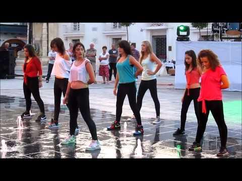 Waterfall Dancers Gozo Performing @ Notte Bianca Malta 2011