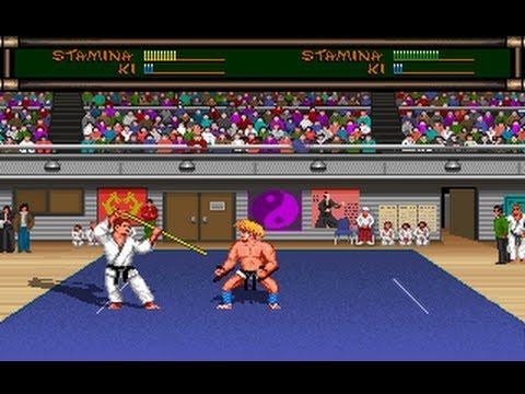 Budokan (1989) MS-DOS PC Game Playthrough