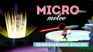 Micro Melee  4 – Edgeguarding Spacies With Lasers