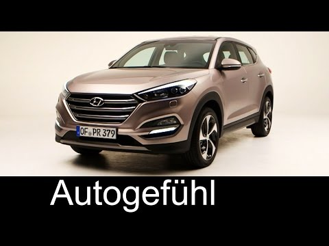 All-new Hyundai Tucson 2015/2016 exterior & interior – replacing Hyundai ix35 – Autogefühl