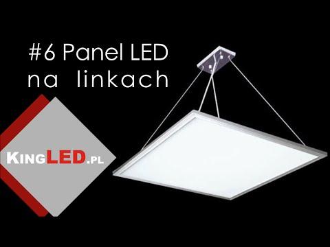 Panele LED zwieszany - montaż na linkach #6 _ Poradnik od KINGLED