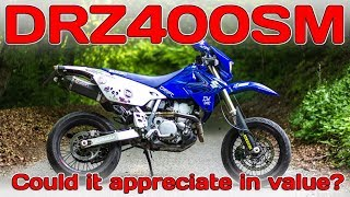 8. Suzuki DRZ400SM! Could its value go up!?