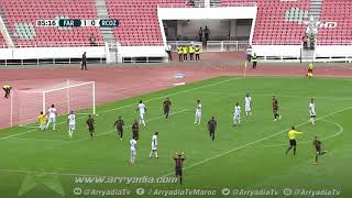 الجيش الملكي 2-0 سريع وادي زم هدف عماد الراحولي في الدقيقة 86.