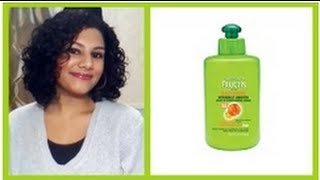 ✅ Garnier Fructis Sleek And Shine Leave In Conditioner On Natural ...