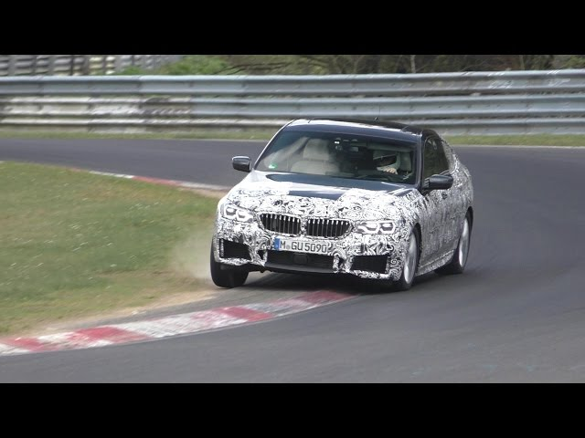 SPYSHOT | 2018 BMW 6 series GT testing HARD at the Nurburgring!