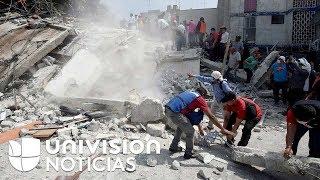 México / Terremoto de 7.1 (Univisión)