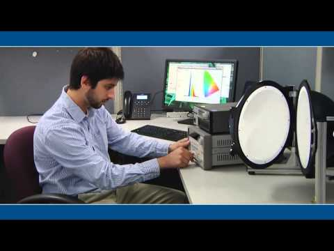 Integrating Spheres and Light Measurement System