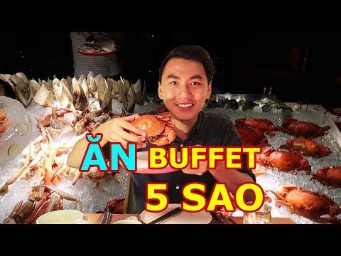ĂN BUFFET 5 SAO Ở SÀI GÒN |Tôm hùm, cua tuyết, hải sản |Seafood buffet - Thời lượng: 28:04.