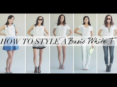 style - more of my fave WHITE Ts here- http://bit.ly/1bt7LDh **CLICK FOR LINKS TO OUTFITS BELOW** -------------------------------------------------------------------...