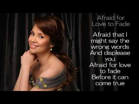 Tekst piosenki Lea Salonga - Afraid For Love To Fade po polsku