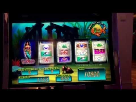 BIG WIN on the Gold Fish slot machine-$687reward.Casino on Breakaway Norwegian Cruise line