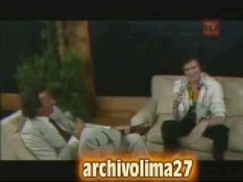 JULIO IGLESIAS  EN SU PROGRAMA DE ENTREVISTAS, CON CAMILO SESTO CHILE 1981