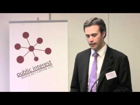 PIAC CEO speech on social justice