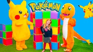 POKEMON GO Assistant Spooky Inflateable Bounce House Surprise ...