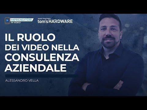Alessandro Vella - Il ruolo dei video nella consulenza aziendale [Imprenditori In Video]