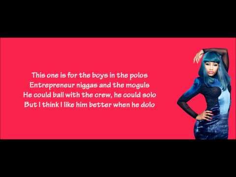 super bass lyrics