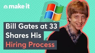 Bill Gates in 1989 On His Hiring Process, Microsoft's Seattle Area Office