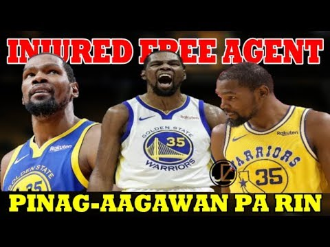 INJURED FREE AGENT na si KEVIN DURANT | PINAGAAGAWAN pa rin ng mga NBA Teams