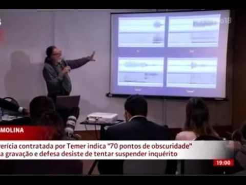 PERITO RICARDO MOLINA CONFIRMOU 70 CORTES EM ÁUDIO DE JOESLEY BATISTA JBS COM MICHEL TEMER