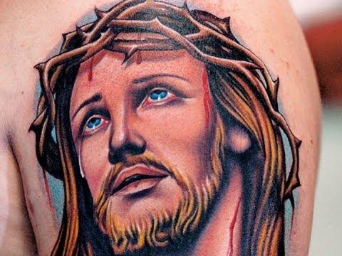 Photos Religious Tattoos – Fotos Tatuagens Religiosas – Tatuaje Religioso – Gospel Tattoos – Jesus
