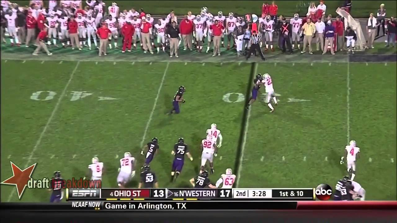 Ryan Shazier vs Northwestern (2013)
