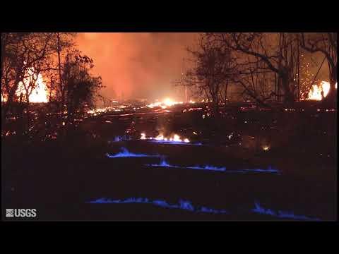 藍色火焰蔓延夏威夷街頭 奇景有如人間煉獄
