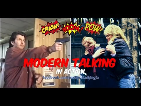Modern Talking in Action! Dieter Bohlen - Tatort & Thomas Anders - Mühle Dame Mord - Thời lượng: 79 giây.