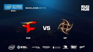 IEM Oakland - FaZe Clan vs NiP - map2 - de_train - [CrystalMay]