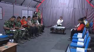Video Rapat Terbatas Penanganan Gempa Nusa Tenggara Barat, Lombok Utara, 13 Agustus 2018 MP3, 3GP, MP4, WEBM, AVI, FLV Agustus 2018