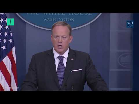 Sean Spicer Can't Say Whether Trump Believes In Man-Made Climate Change