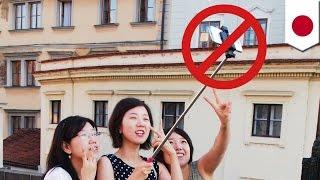 便利?迷惑?流行の「自撮り棒」日本も禁止の動き