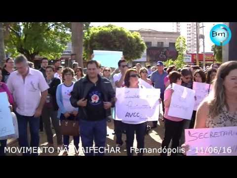 Fernandópolis - Movimento não vai fechar ( hospital de câncer) é sucesso absoluto em Fernandópolis