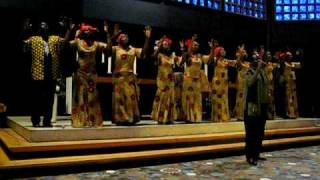 Ugandan Gospel Singers At The Kaiser Wilhelm's Memorial Church In Berlin