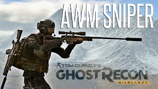 AWM SNIPER - Ghost Recon Wildlands Solo Missions ( Hardest Difficulty)