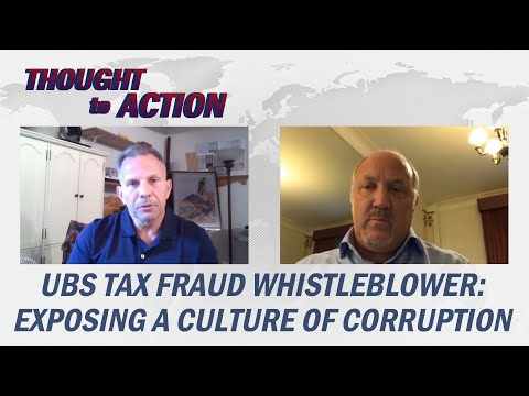 UBS Tax Fraud Whistleblower Brad Birkenfeld Exposes Long Range Culture of Government Corruption