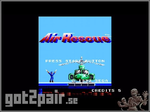 Air Rescue - Master System